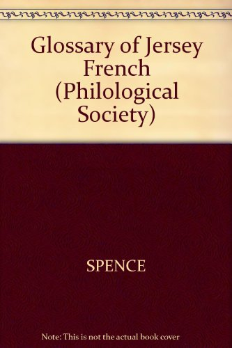 9780631057802: Glossary of Jersey-French