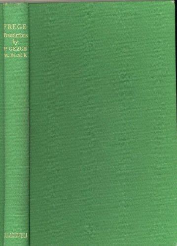 9780631058106: Philosophical Writings: Translations