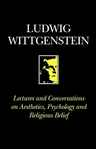 9780631095804: Lectures and Conversations on Aesthetics, Psychology and Religious Belief
