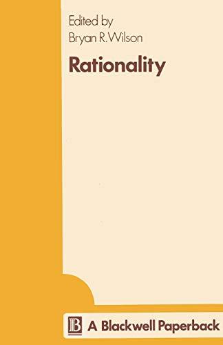 9780631099000: Rationality