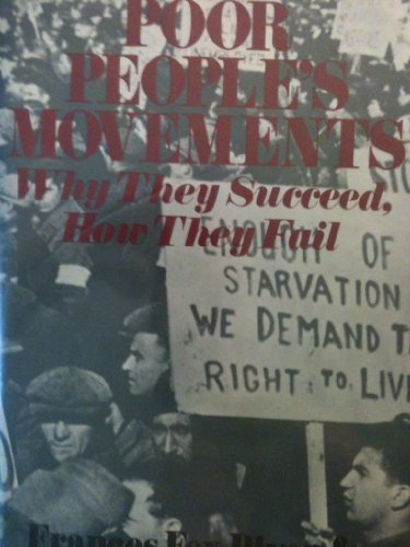 9780631102519: Poor People's Movements: Why They Succed, How They Fail