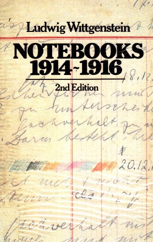 9780631102915: Notebooks 1914-16