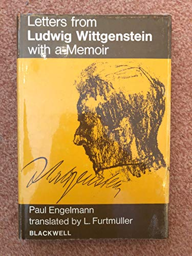9780631105404: Letters from Ludwig Wittgenstein with a Memoir