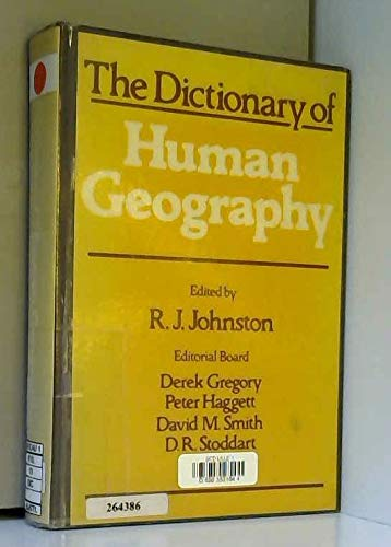 9780631107217: The Dictionary of human geography