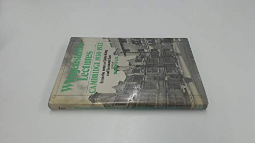 9780631107514: Wittgenstein's Lectures- Cambridge- 1930-1932: From the Notes of John King and Desmond Lee
