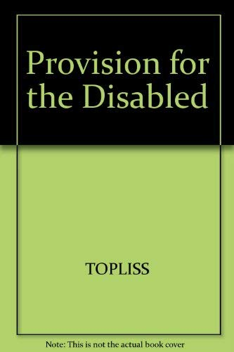 9780631108214: Provision for the Disabled (Aspects of social policy)