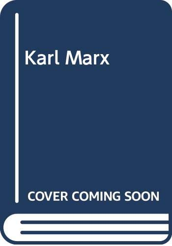 9780631109617: Karl Marx