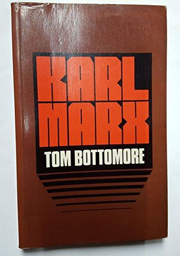 9780631110613: Karl Marx