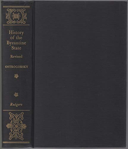 9780631110705: History of the Byzantine State.