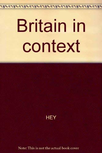 Britain in Context: Hey, John D.