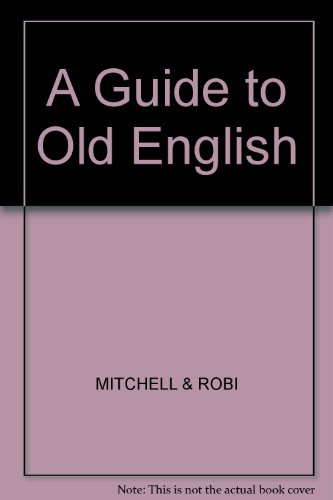 9780631116608: A Guide to Old English