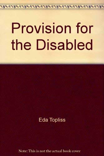 9780631116912: Provision for the Disabled (Aspects of social policy)
