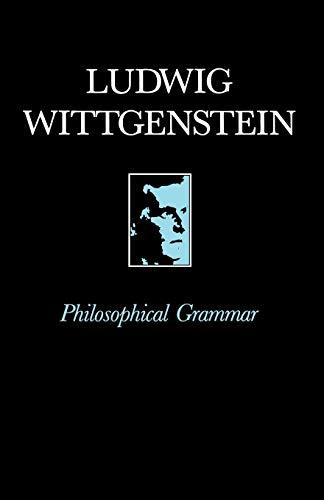 9780631118916: Philosophical Grammar