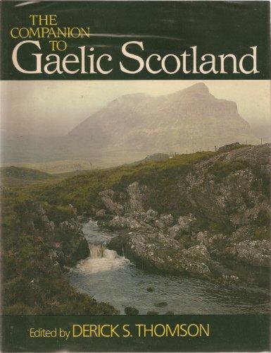 9780631125020: The Companion to Gaelic Scotland