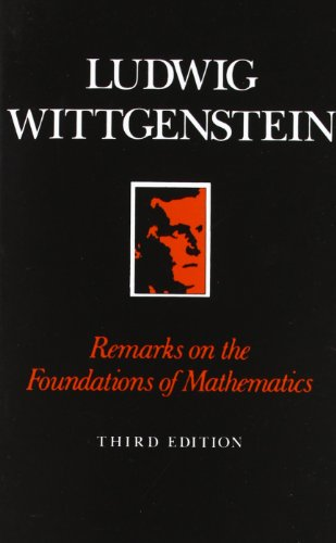 9780631125051: Remarks on the Foundation of Mathematics