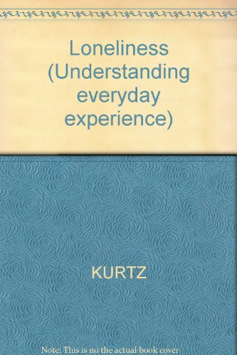 9780631125785: Loneliness (Understanding everyday experience)