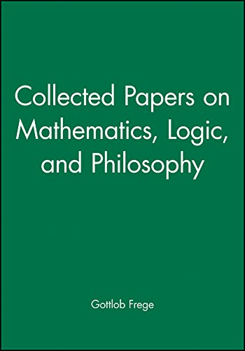 9780631127284: Collected Papers on Mathematics, Logic, and Philosophy
