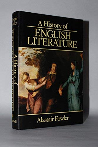 9780631127314: A History of English Literature: Forms and Kinds from the Middle Ages to the Present