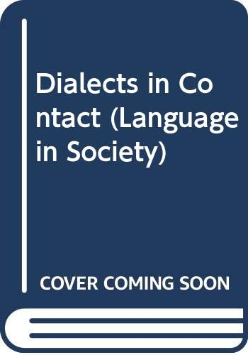 9780631127338: Dialects in Contact