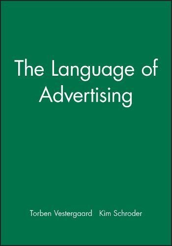 9780631127437: Language of Advertising