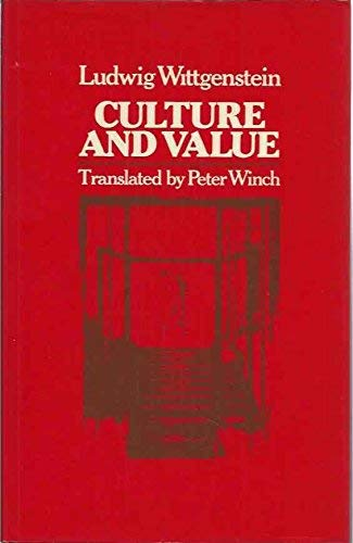 9780631127529: Culture and Value: Parallel Text