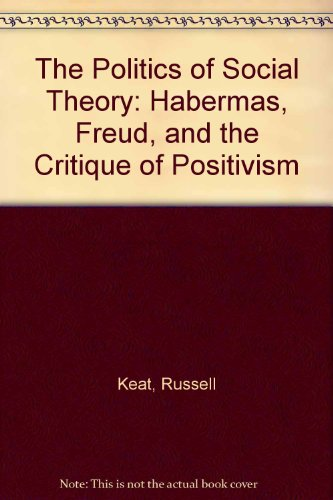 9780631127796: The Politics of Social Theory: Habermas, Freud, and the Critique of Positivism