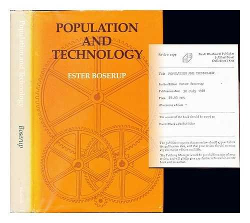 9780631128175: Population and Technology