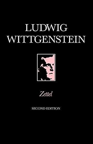 9780631128236: Zettel (Open University Set Books)