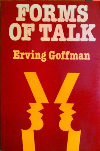 9780631128861: FORMS OF TALK.