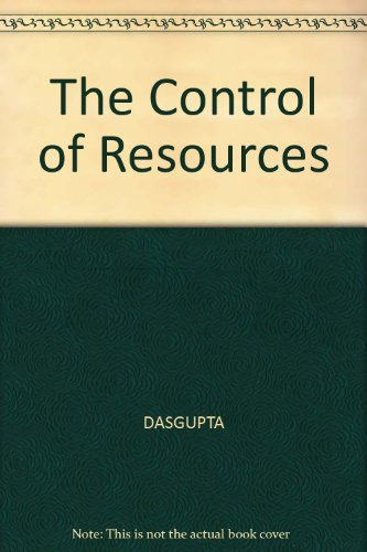 9780631129356: The Control of Resources