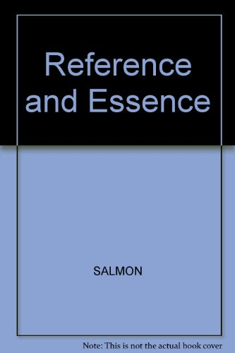 9780631130048: Reference and Essence