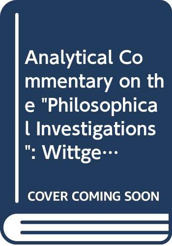 9780631130246: Analytical Commentary on the