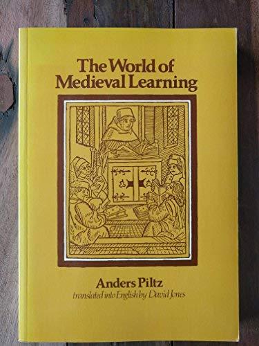 9780631130529: The World Of Mediaeval Learning