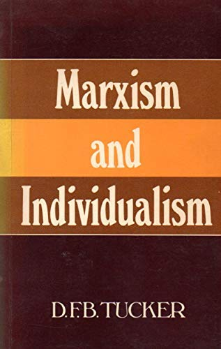 9780631130567: Marxism and Individualism