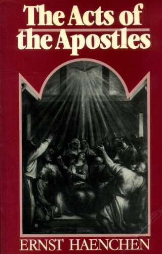 9780631130727: The Acts of the Apostles: A Commentary