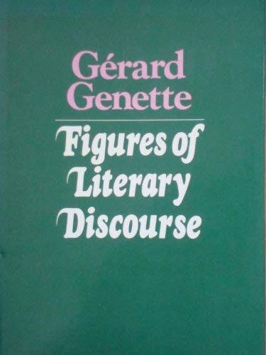 Figures of Literary Discourse Hc: Genette, Gerard