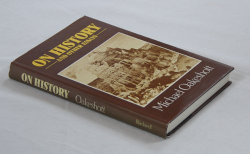 9780631131144: On history and other essays