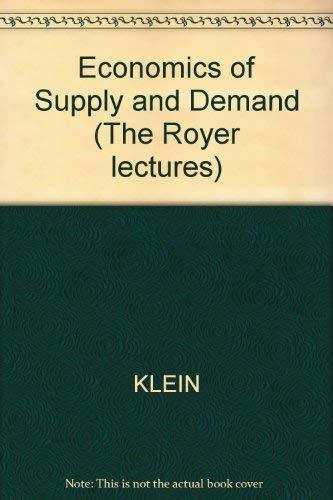 9780631131557: Economics of Supply & Demand