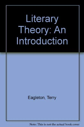 Literary Theory: An Introduction: EAGLETON