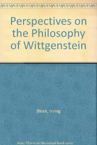 9780631133063: Perspectives on the Philosophy of Wittgenstein