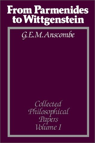 9780631133117: From Parmenides to Wittgenstein (Collected Philosophical Papers, Volume 1)