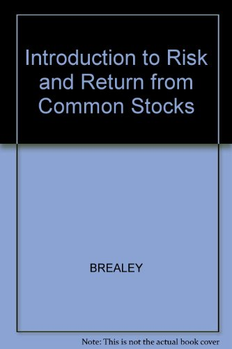 9780631133315: Introduction to Risk and Return from Common Stocks