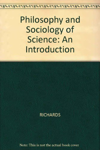 9780631134114: Philosophy and Sociology of Science: An Introduction