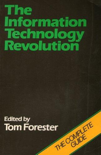 9780631134381: The Information Technology Revolution