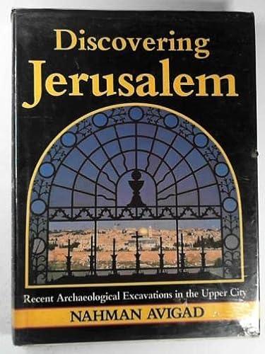 9780631135333: Discovering Jerusalem