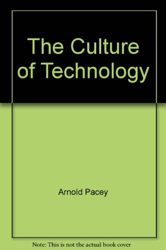 9780631136439: The Culture of Technology
