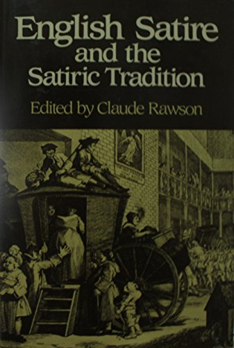 9780631136682: English Satire and the Satiric Tradition