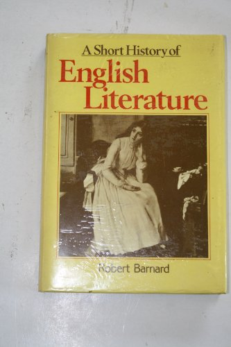 9780631137610: A Short History of English Literature