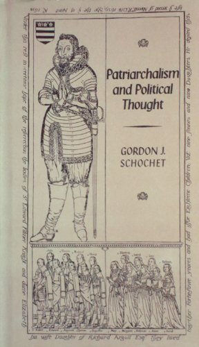 9780631137801: Patriarchalism in Political Thought