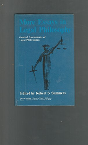 More Essays in Legal Philosophy: Robert S. Summers, ed.